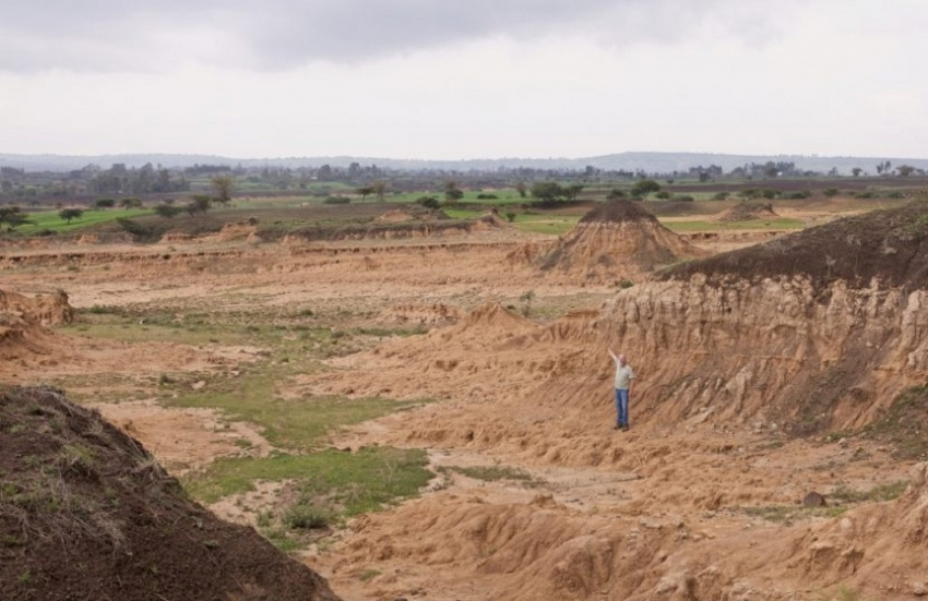 Why soil is disappearing from farms