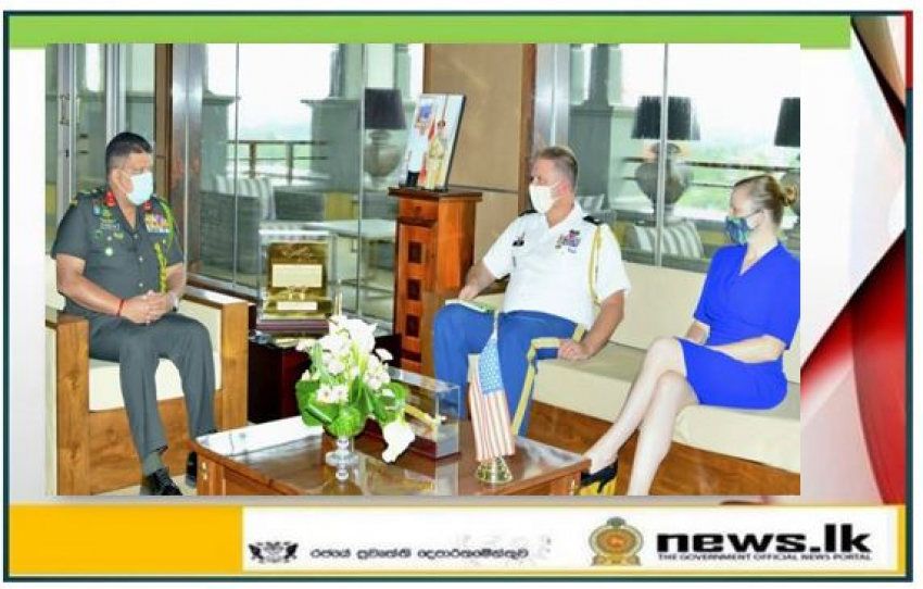 US Defence Attaché in Colombo Calls on Commander of the Army