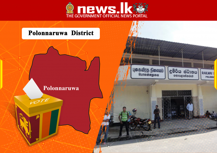 PARLIAMENTARY ELECTION - 2020 -District : Polonnaruwa Seat Allovation