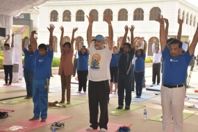 International Day of Yoga 2017 celebrations kick off in Sri Lanka