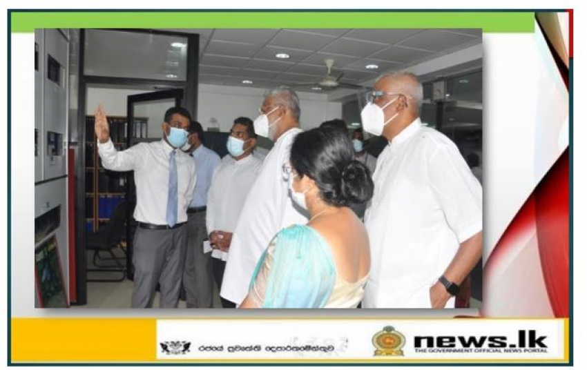 An Ornamental Fish Information Center opens in Battaramulla.