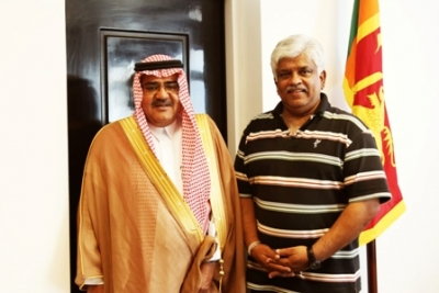 Saudi assistance for oil refinery sector in Sri Lanka