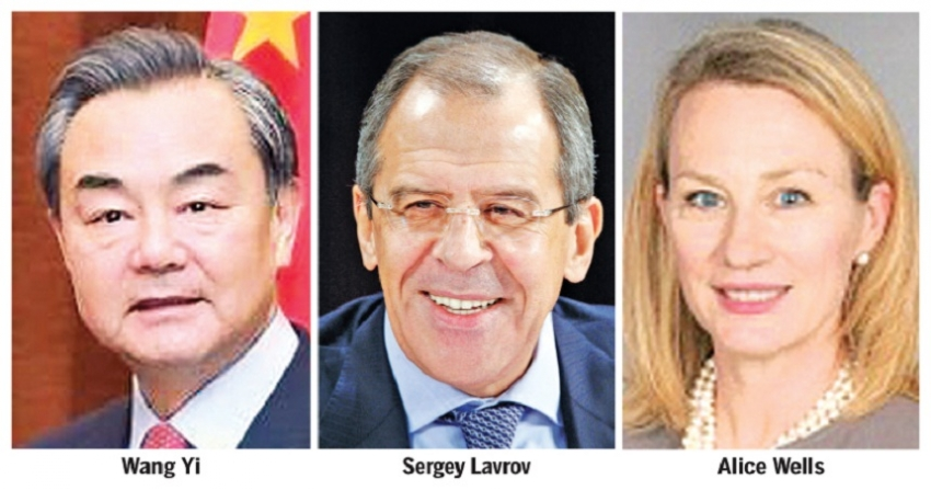 Chinese, Russian FMs arrive tonight