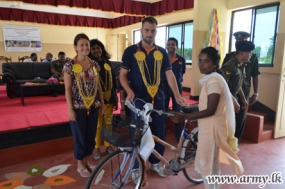 Women Empowered with Supply of More Push Bicycles