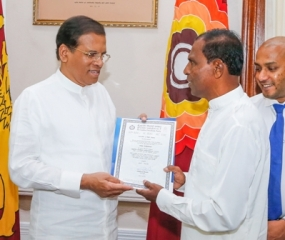 Three new SLFP electorate organizers receive appointments