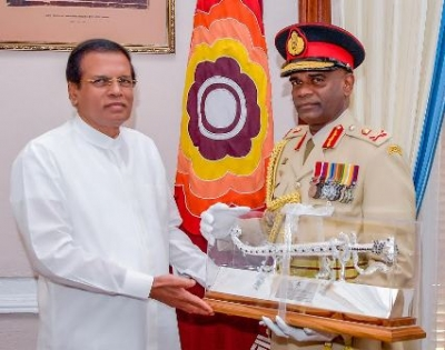 New Army commander calls on President