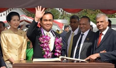 Thai Prime Minister's official visit to Sri Lanka………