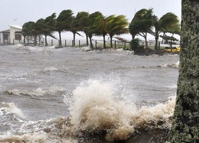 "Heavy showers, strong winds and rough seas due to cyclonic storm ""Bulbul"""