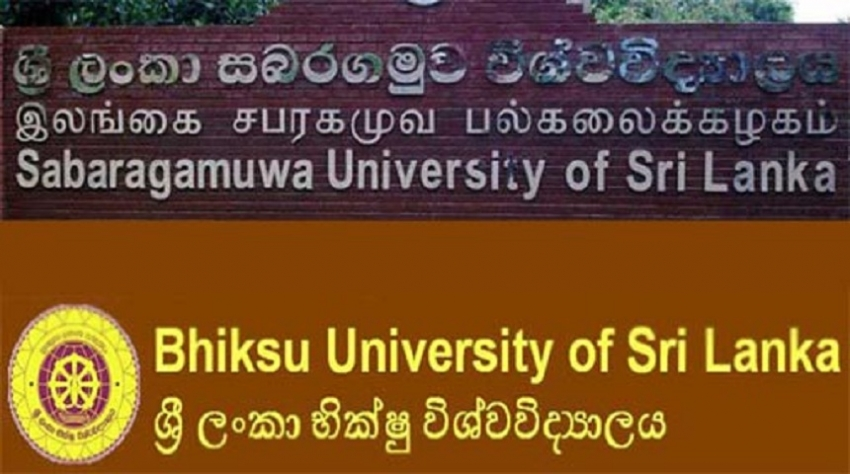 Sabaragamuwa & Bhiksu universities to reopen next week