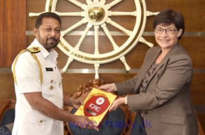 Head of ICRC in Sri Lanka calls on Navy Commander