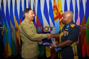 Pakistan Joint Chiefs Head calls on Air Force Commander