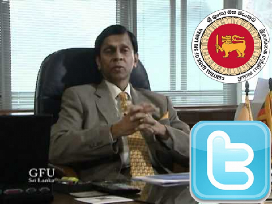 Live Twitter Q&A Session with the Governor of Central Bank of Sri Lanka on 24th Sept.2014