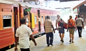 Trains back on track
