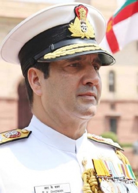 Admiral  R.K. Dhowan takes over as new Indian Navy Chief