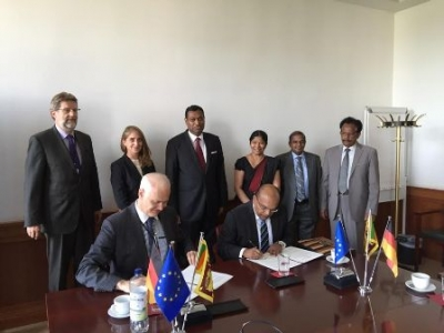 An agreement signed to recruit Sri Lankans as Geriatric Care Nurses