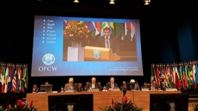 Sri Lanka calls for a review of the composition of the OPCW