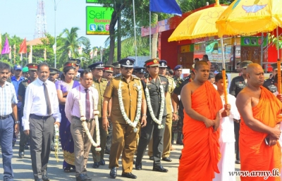 Army Built New 'Piriven' Accommodation Complex Vested in Maha Sangha