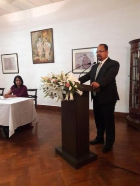 New Delhi based Diplomats briefed on good governance initiatives