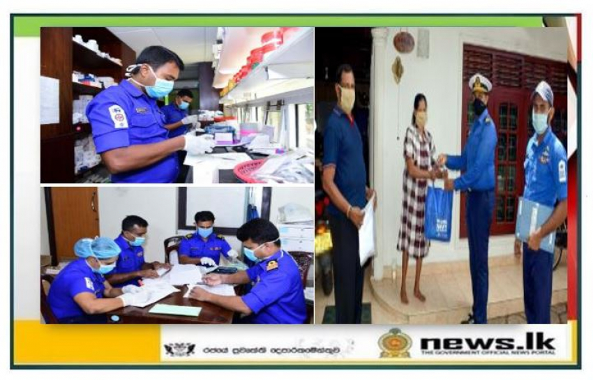 Navy General Hospital Colombo delivers medicine to patients receiving long-term treatment
