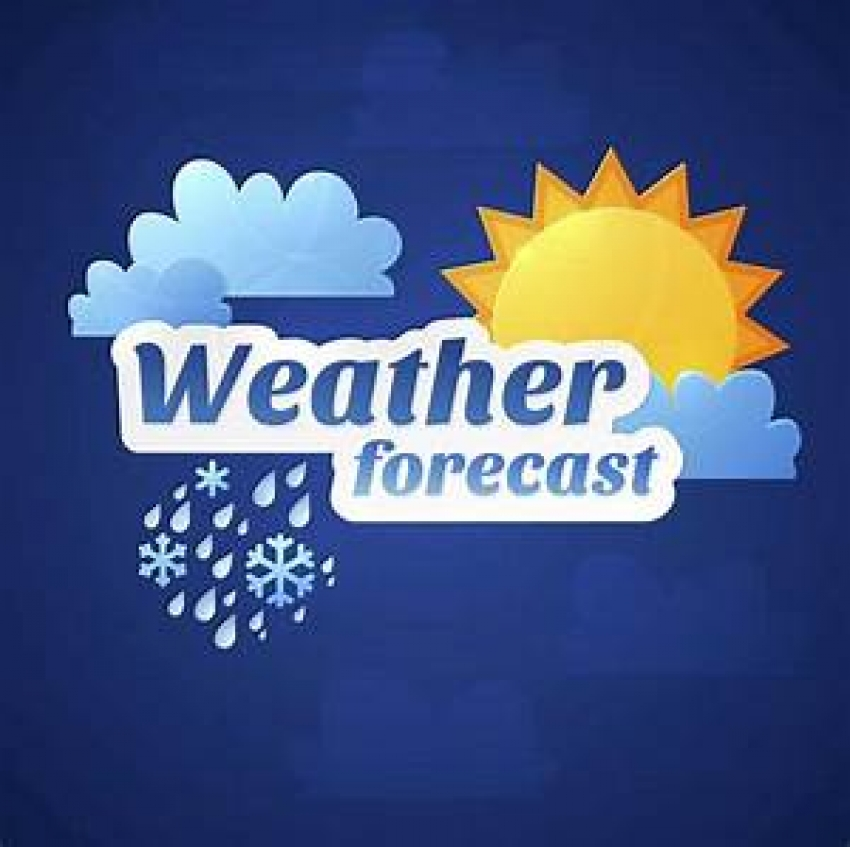 Enhancement of showers during next two days