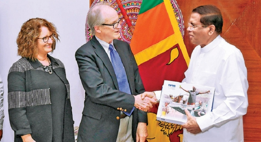 Global water management expert visits Sri Lanka