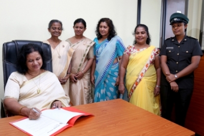 New Chairperson of Seva Vanitha Unit