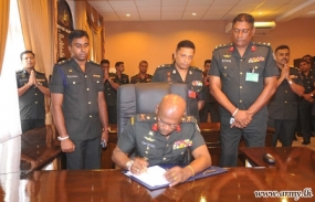 New Chief of Staff of Army assumes office
