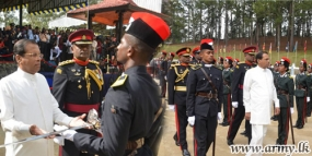 191 Officer Cadets pass out at SLMA Diyatalawa
