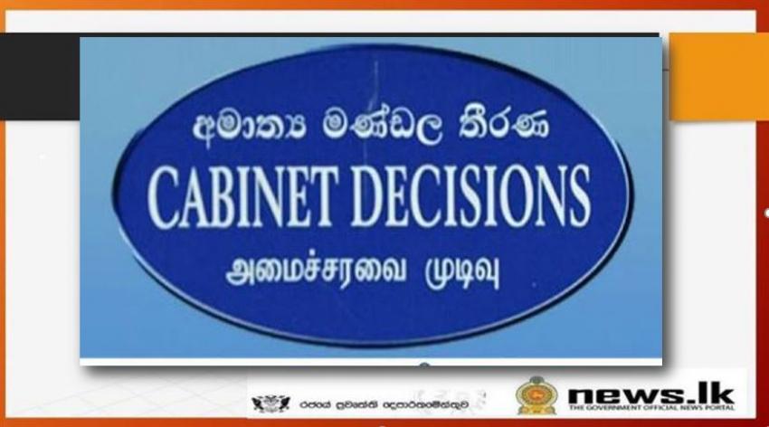 Cabinet Decisions 27-05-2020