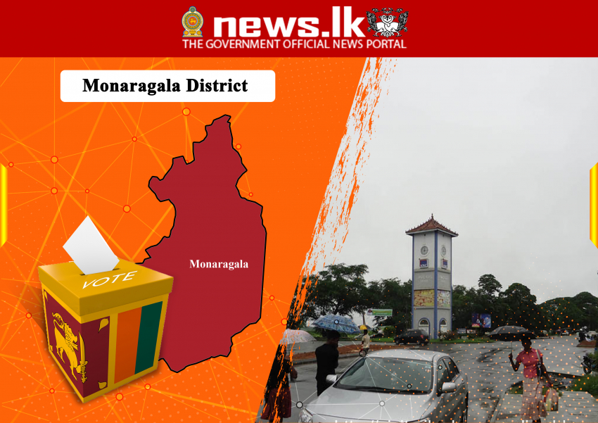 2020 -District : Monaragala Seat Allovation