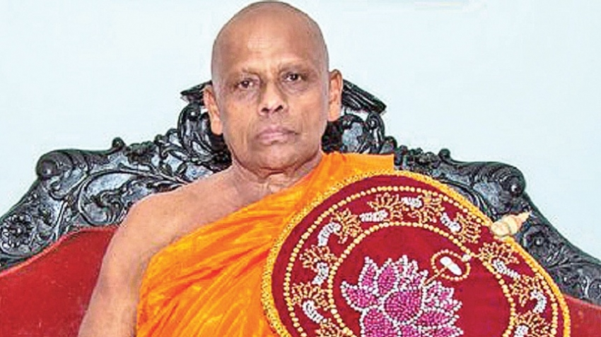 Asgiriya Chief Prelate praises President's decision