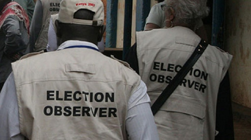 Foreign election observers  to arrive today & tomorrow