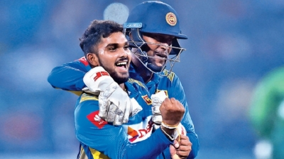 Rajapaksa, Pradeep set up Sri Lanka series win