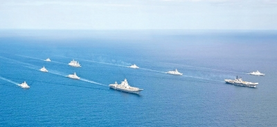 Power rivalry in Indian Ocean