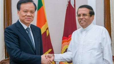 President thank China for continuous support and assistance to Sri Lanka