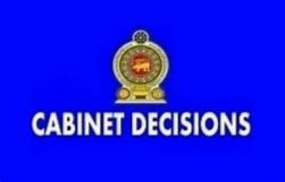 Decisions taken by Cabinet of Ministers on 02.01.2020