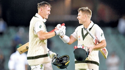 Warner and Labuschagne smack centuries in day-night Pakistan Test