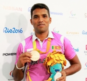 Sri Lanka clinched first Paralympics medal
