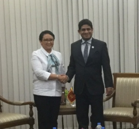 SL and Indonesia discuss to strengthen bilateral cooperation