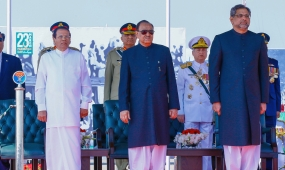 President Chief Guest at Pakistan Republic Day celebrations