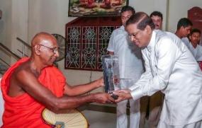 President opens Seema Malakaya and Dhathu Mandiraya