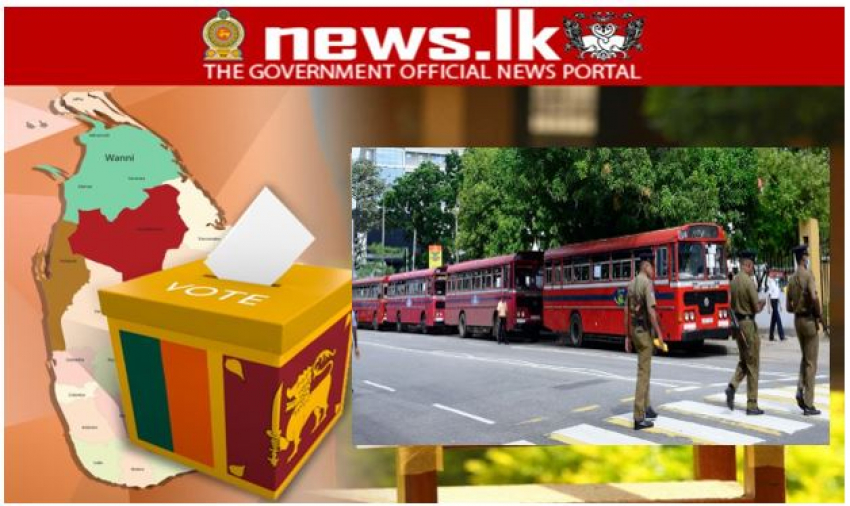 SLTB deploys 1202 busses for election duty