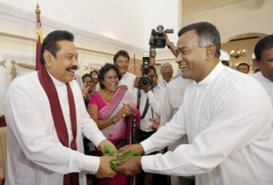 Tissa Gives Shivers to UNP - Mahinda Takes Lead from Nomination Day