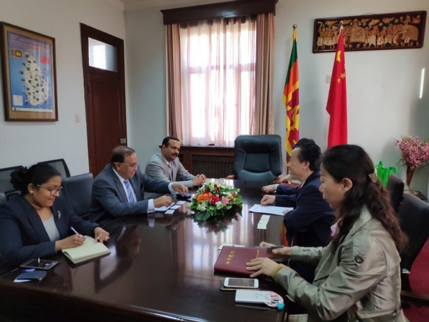 CHINA TO ENHANCE COOPERATION WITH SRI LANKA IN  AGRICULTURE