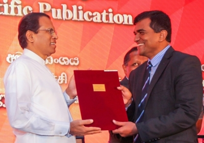 President's Awards for Scientific Publication held