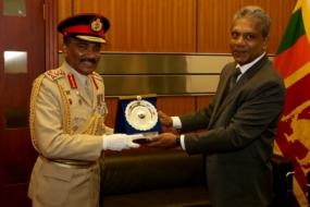 CDS pays courtesy call on Defence Secretary