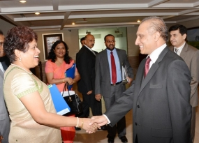 Pakistan-Sri Lanka Foreign Secretary-level talks