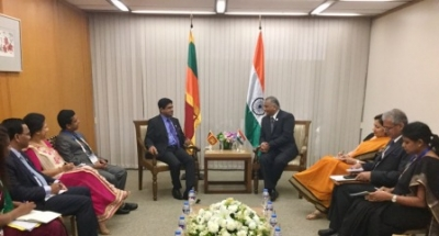 India, Sri Lanka State Ministers meet in Manila