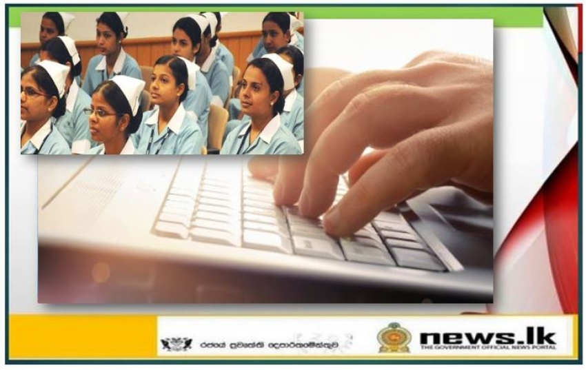 Student nursing trainees to be recruited online
