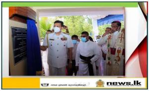 School facilities improved by Navy bestowed on children of Roman Catholic College, Mandaitivu